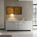 Buffet/bahut contemporain 210 cm Freeland
