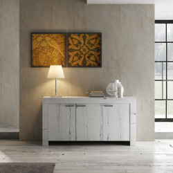 Buffet/bahut contemporain 160 cm Freeland