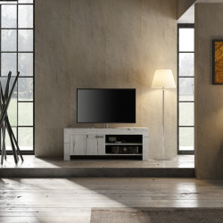 Meuble TV contemporain 140 cm Freeland