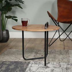 Table basse contemporaine en acacia massif Malone