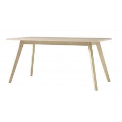 Table rectangulaire scandinave chêne Losana