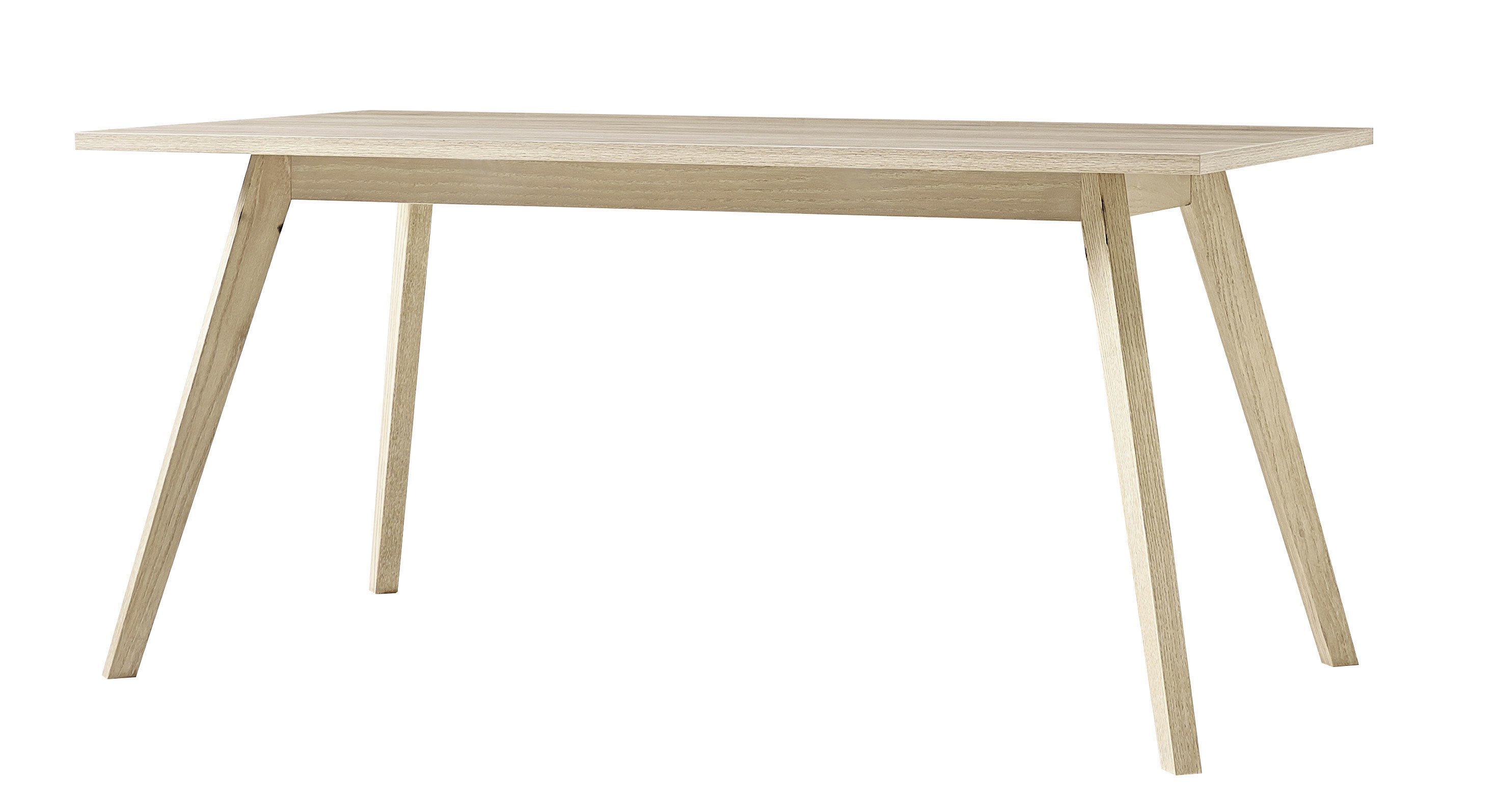 Table rectangulaire scandinave chêne Losana