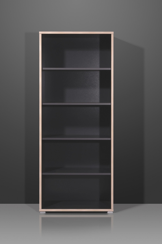 Etagère de bureau contemporaine anthracite hauteur 182 cm Garland