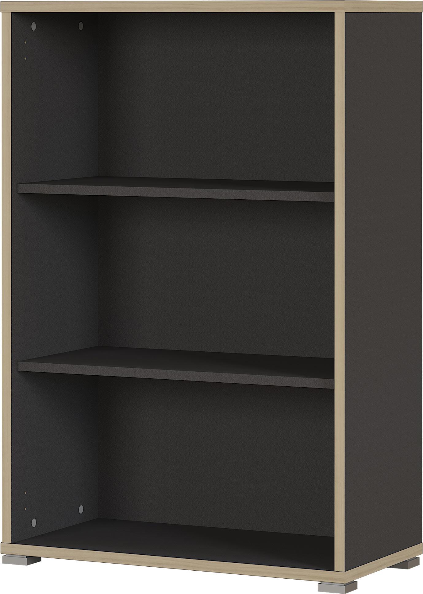 Etagère de bureau contemporaine anthracite hauteur 112 cm Garland
