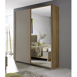 Armoire contemporaine portes coulissantes Ursula