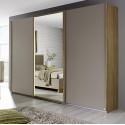 Armoire contemporaine portes coulissantes 271 cm Ursula