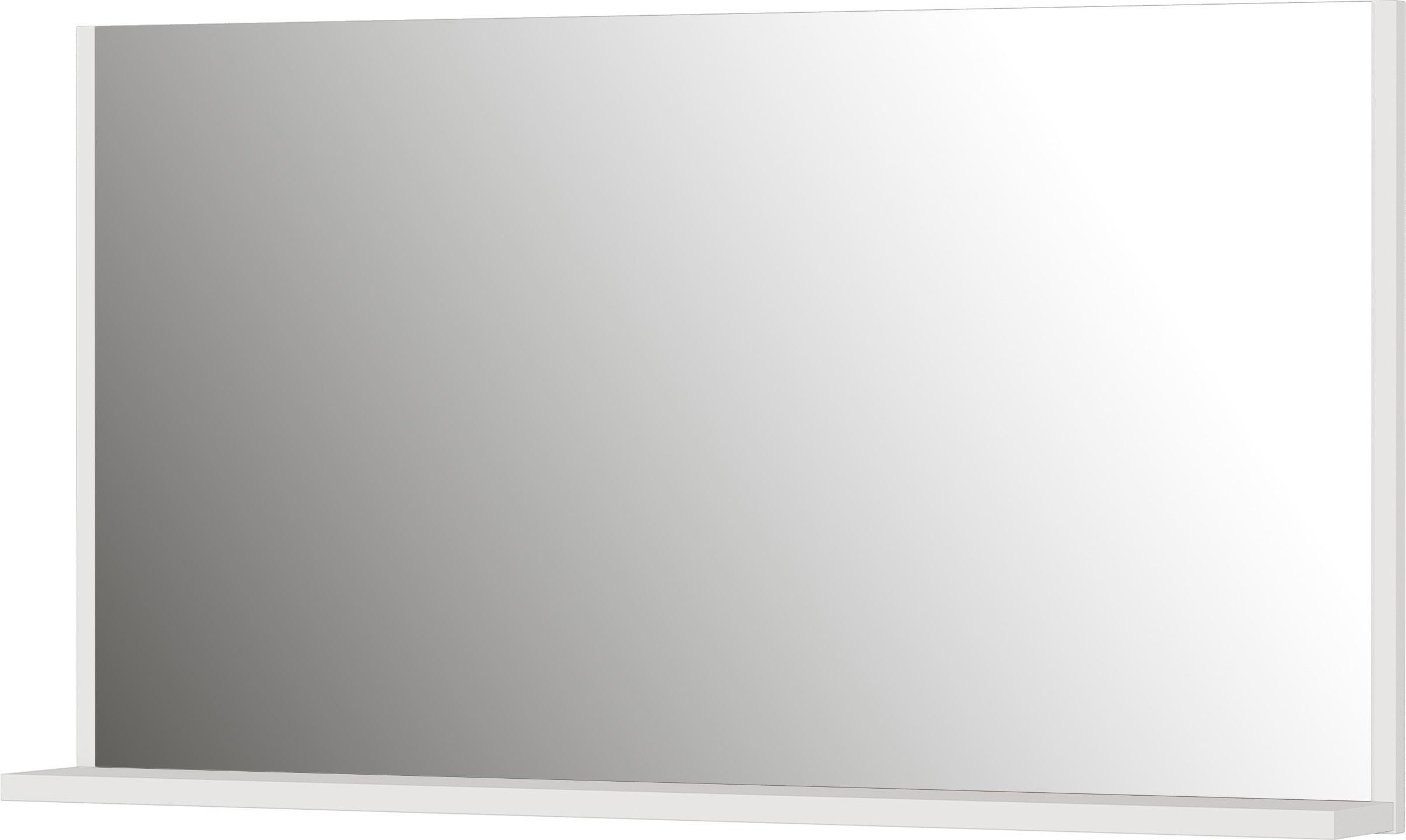 Miroir rectangulaire gris Aurora