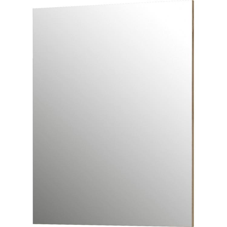 Miroir d'entrée rectangulaire coloris chêne Hélise