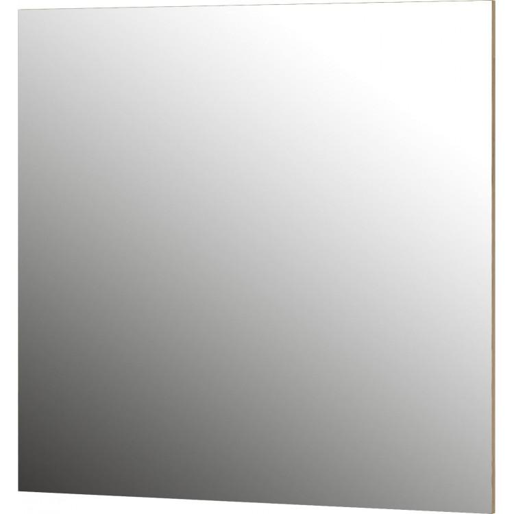 Miroir rectangulaire coloris chêne Janette