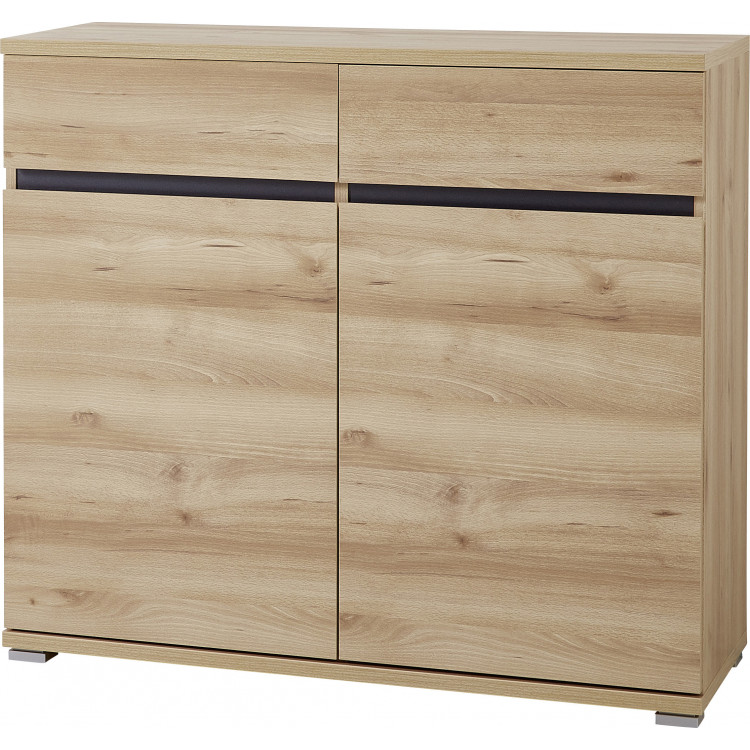 Buffet/bahut contemporain 96 cm coloris hêtre Yanice