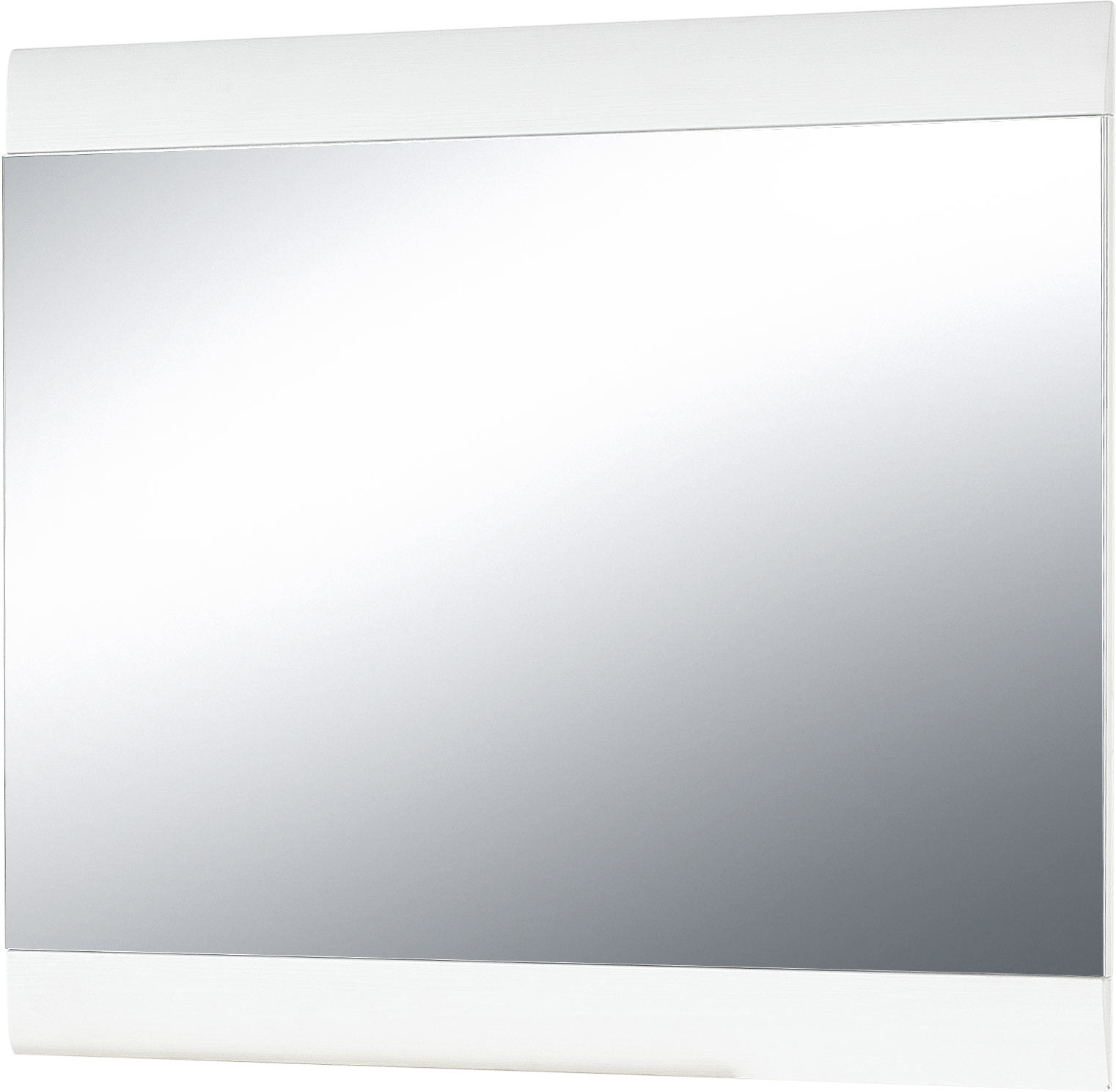 Miroir rectangulaire blanc Corfou