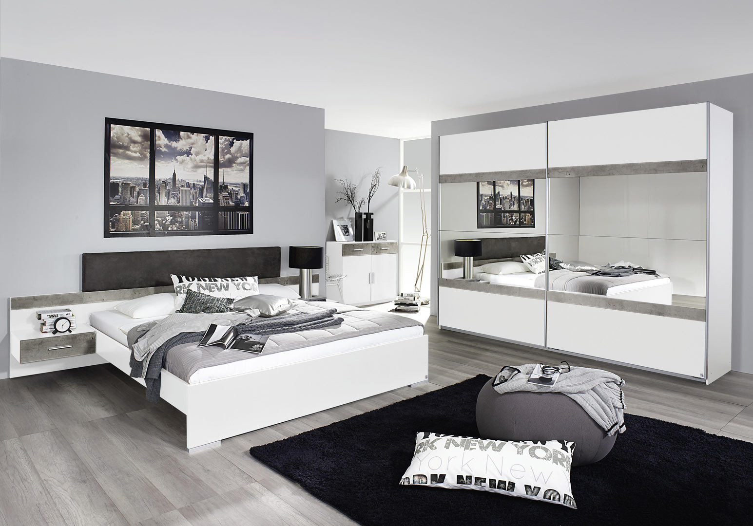 Chambre adulte moderne Penny
