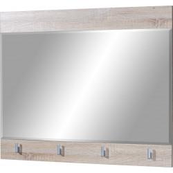 Miroir rectangulaire coloris chêne Maxine