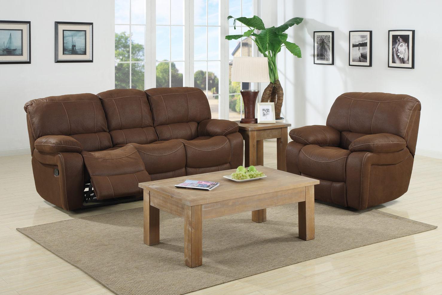 Canapé de relaxation manuel 3 places 2 relax LUXOR