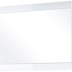 Miroir rectangulaire blanc Adèle
