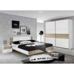 Chambre adulte contemporaine Orchidee