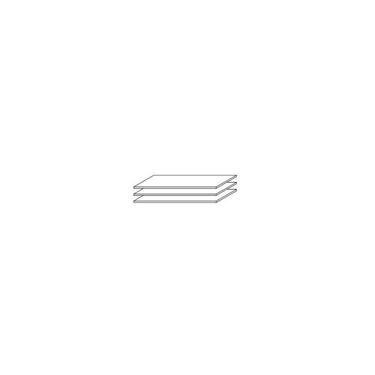 Etagère 107 cm (lot de 3) Aureal