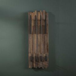 Portemanteaux à 2x4 crochets en bois Elara