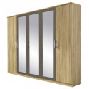 Armoire contemporaine 226 cm Valencia