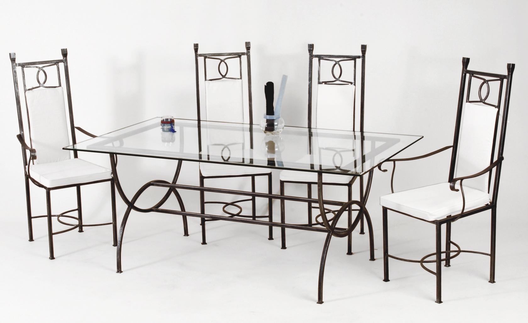 Table fer forgé DIVINE