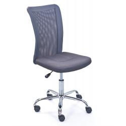 Chaise de bureau moderne en tissu Sylvie