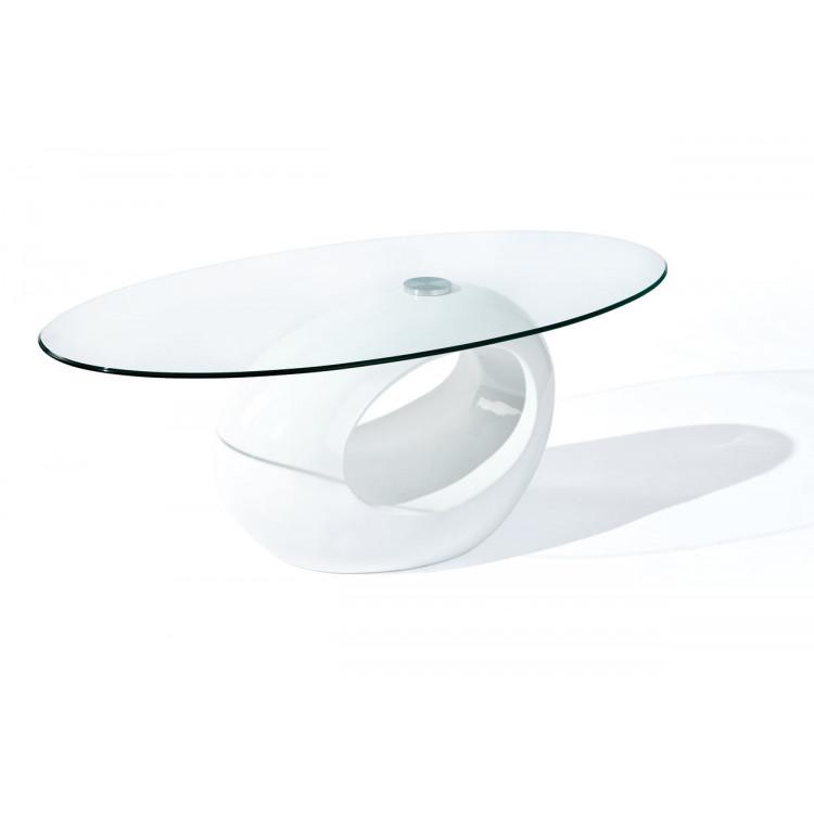 Table basse moderne en verre Suzie
