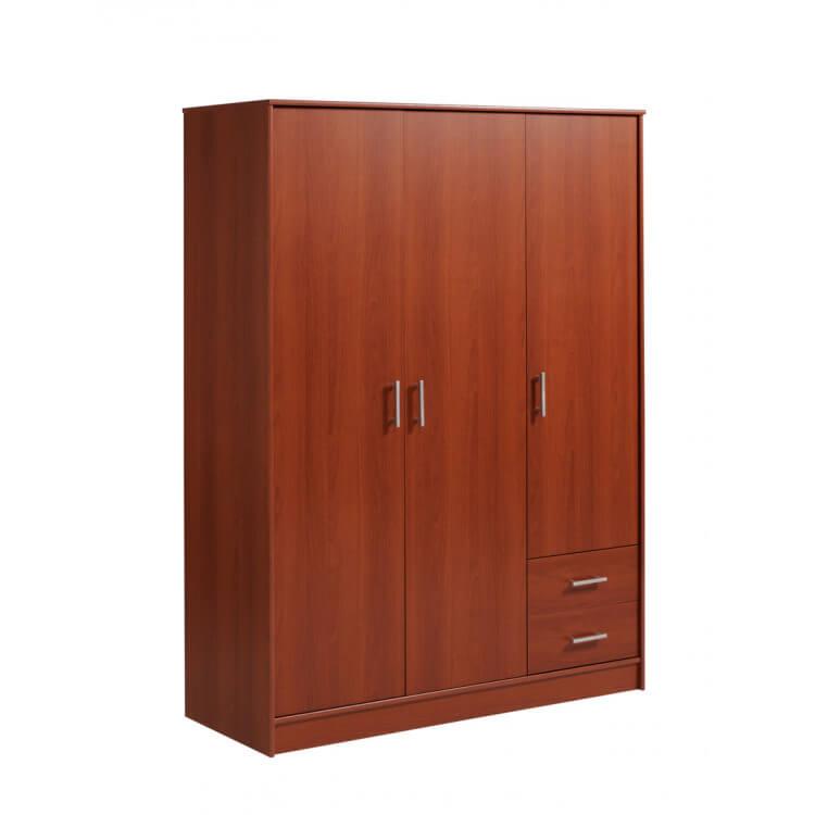 Armoire 3 portes/2 tiroirs VITAL