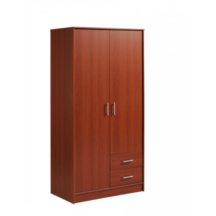 Armoire 2 portes/2 tiroirs VITAL