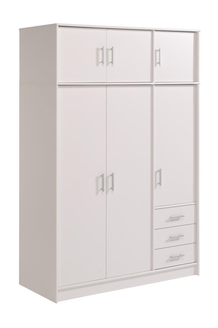 Armoire 3 portes/3 tiroirs VITAL