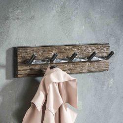 Portemanteaux en bois à 5 crochets Tonio