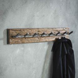 Portemanteaux en bois 8 crochets Julia