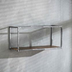 Etagère en métal et bois 65 cm Séverine