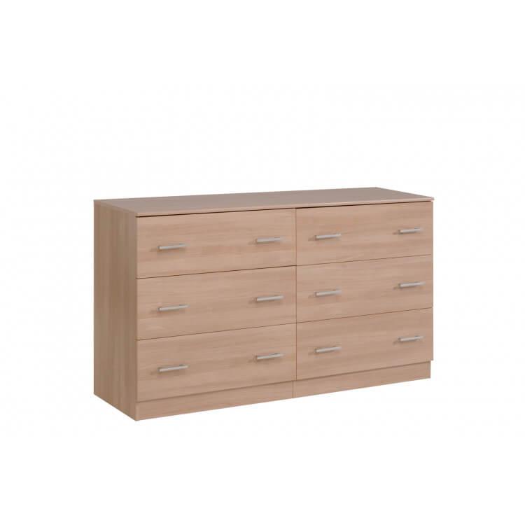 Commode 6 tiroirs VITAL Bruges