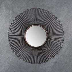 Miroir rond en métal Ø80 cm Vianney
