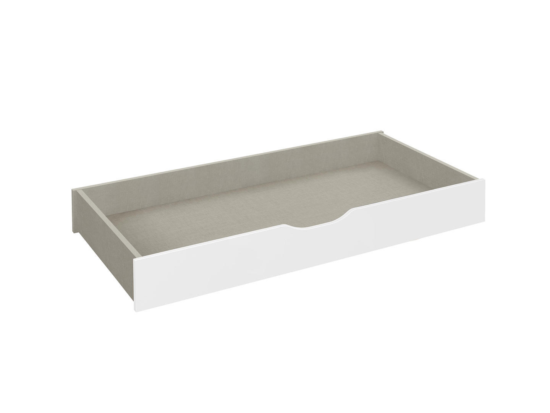 Tiroir de lit blanc Oklaoma