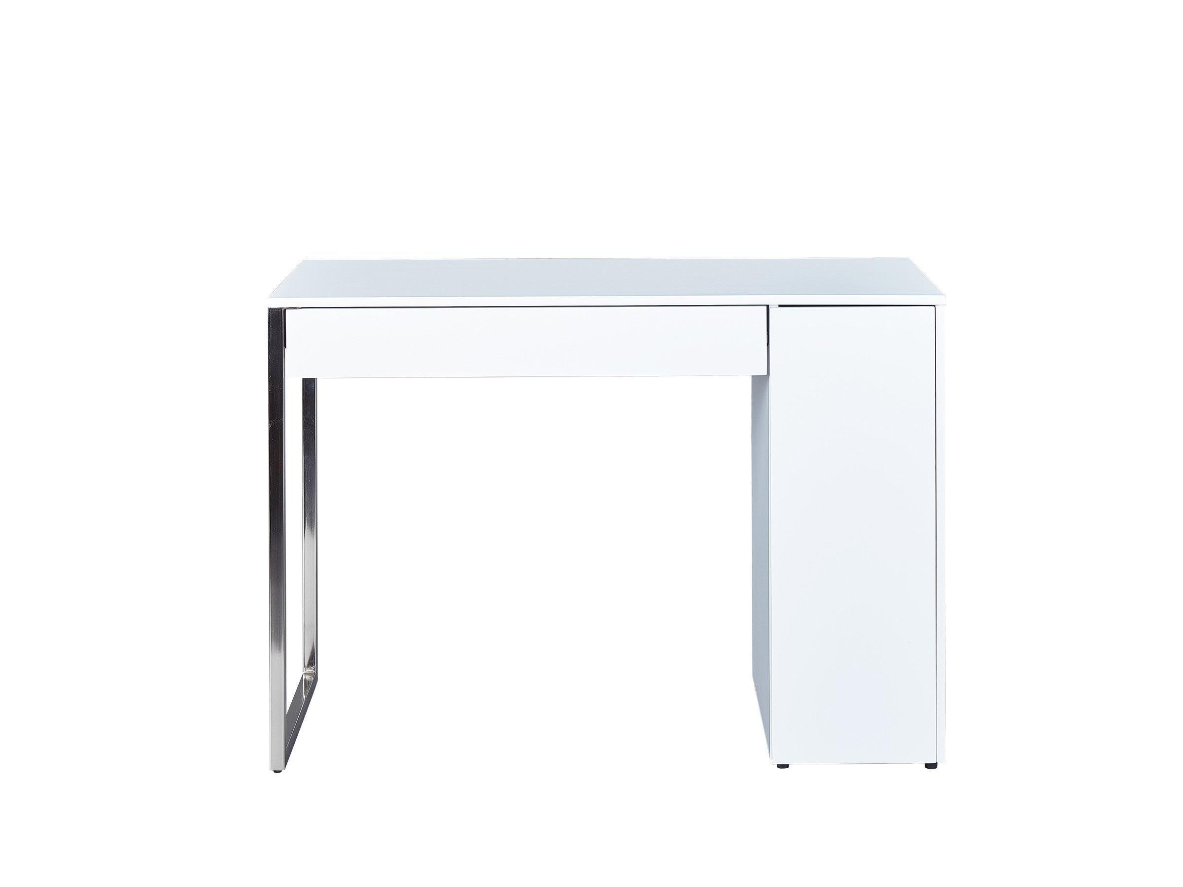 Bureau design blanc mat Swanie