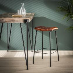 Ensemble vintage de 4 tabourets de bar Molly