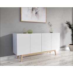 Buffet/Bahut scandinave blanc Anders