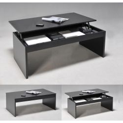 Table basse relevable contemporaine 100x50 cm Maily