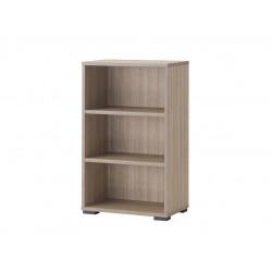 Bibliothèque contemporaine H 112 cm chêne clair Margaux
