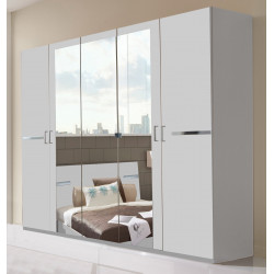 Armoire adulte contemporaine 225 cm Marlene