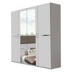 Armoire adulte contemporaine 180 cm Marlene
