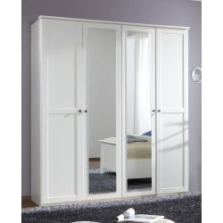 Armoire adulte contemporaine 180 cm Omalay