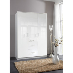 Armoire contemporaine 135 cm Telma