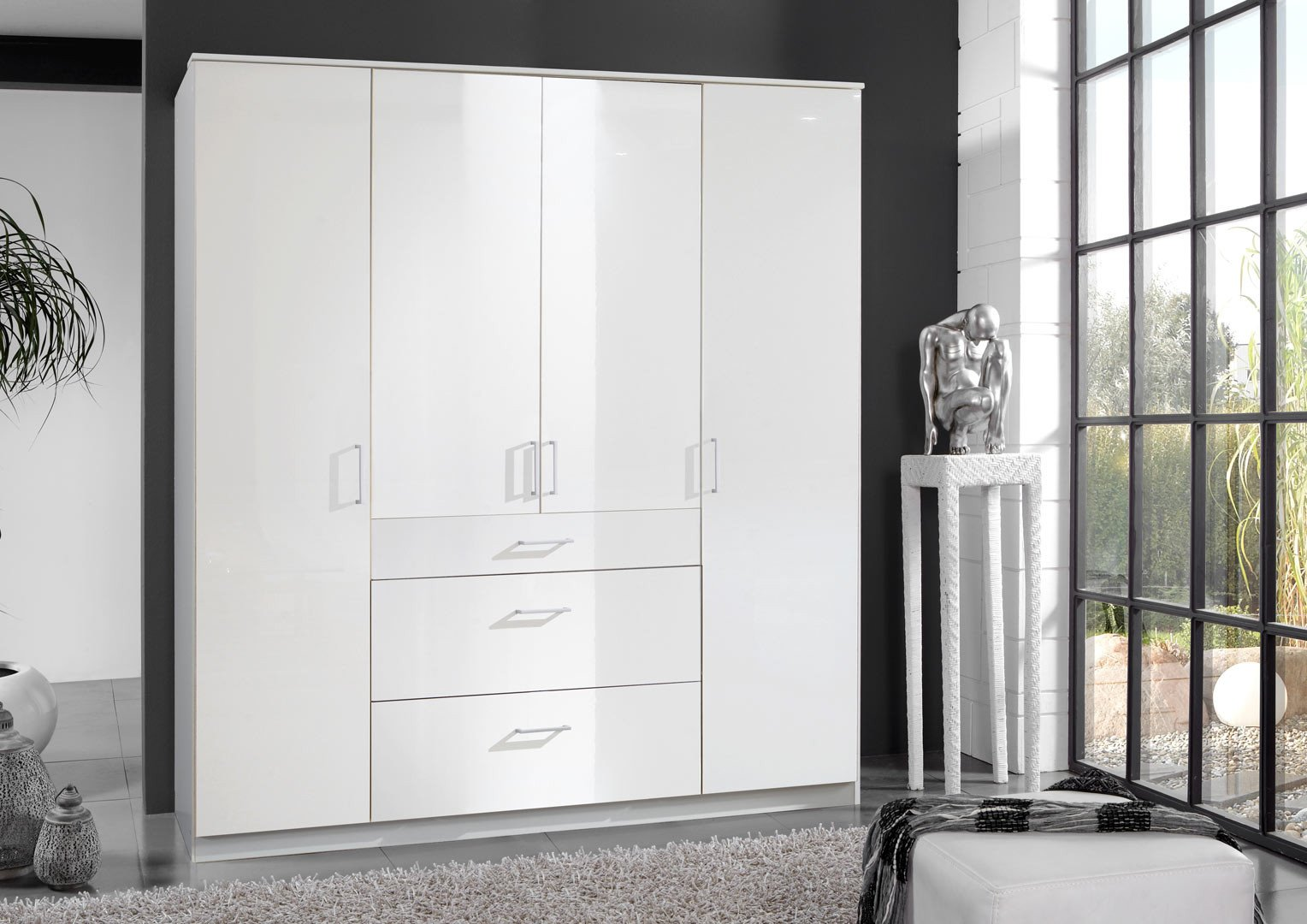 Armoire contemporaine 180 cm Telma