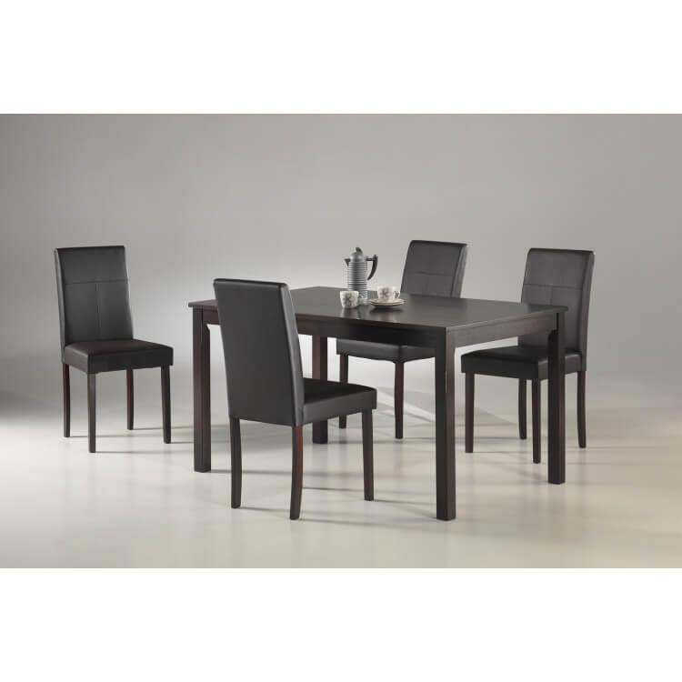Ensemble table & chaises de salle à manger AURELIE