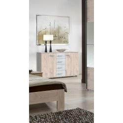 Commode contemporaine 130 cm Serena