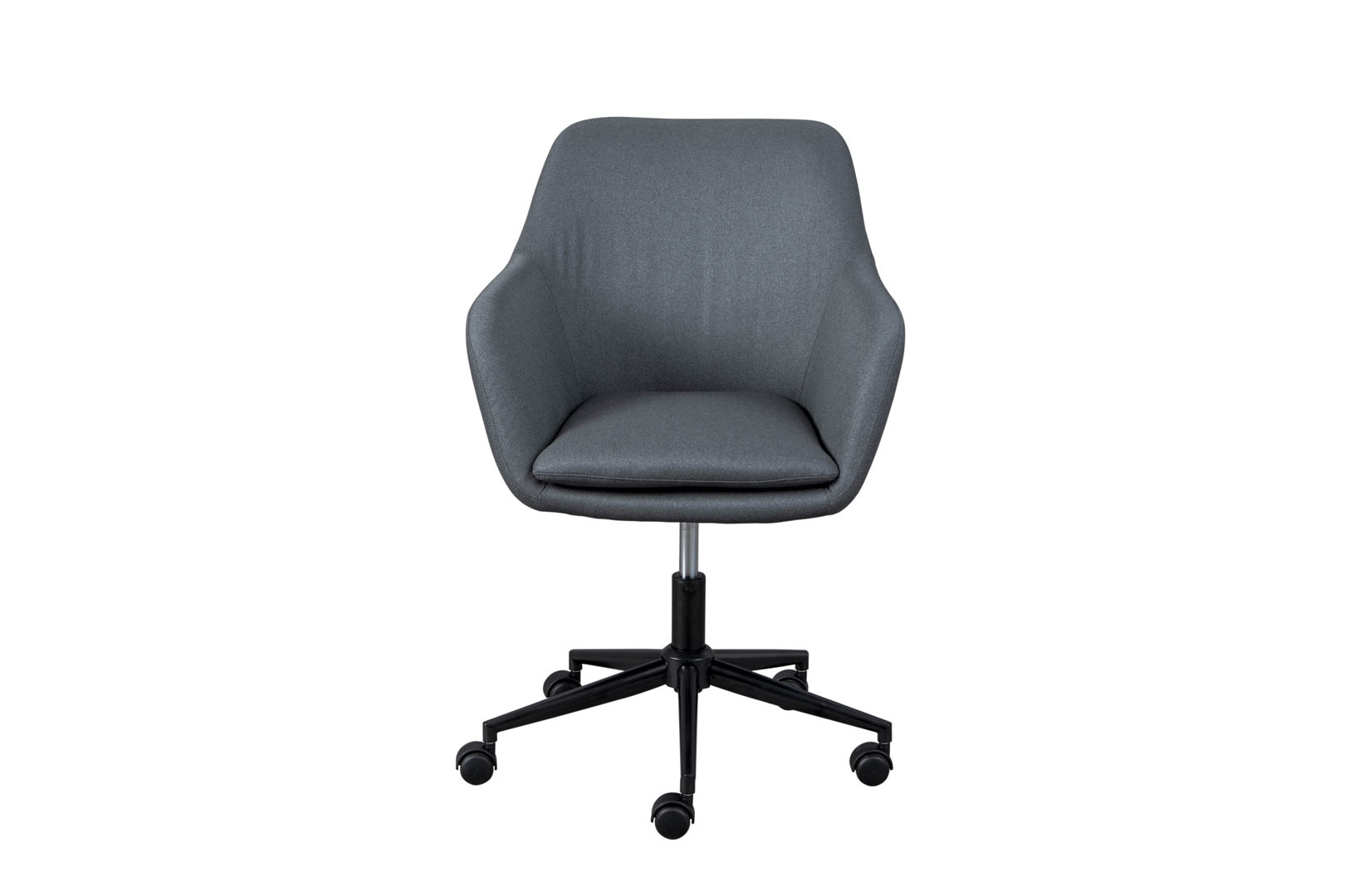 Chaise de bureau contemporaine en tissu Touraine