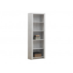 Bibliothèque contemporaine chêne blanc Curtis