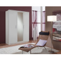 Armoire contemporaine 135 cm Begonia
